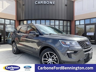 New 2019 Ford Explorer Sport SUV For sale in Bennington, VT