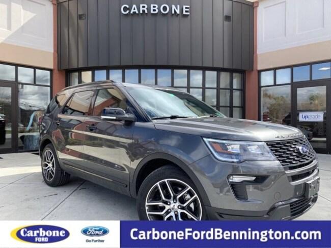 New 2019 Ford Explorer Sport SUV for sale in Bennington VT