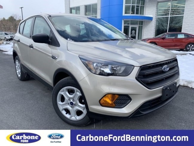 New 2018 Ford Escape S SUV for sale in Bennington VT