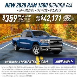 2020 Ram 1500 BigHorn 4X4