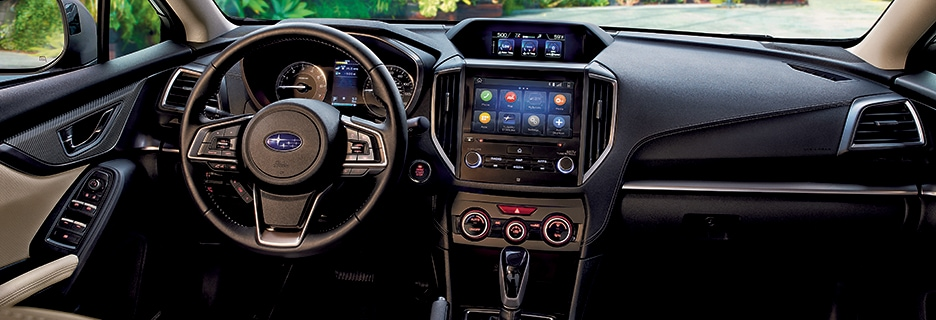 2020 Subaru Impreza Interior Features