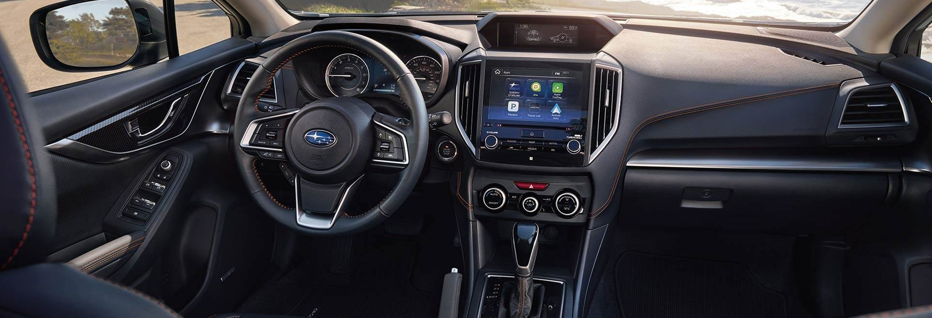 2018 Subaru Crosstrek Civic Interior Features