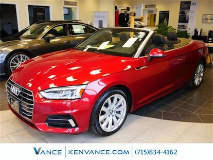 New 2018 Audi A5 For Sale At Audi Eau Claire Vin Wauyngf59jn016988