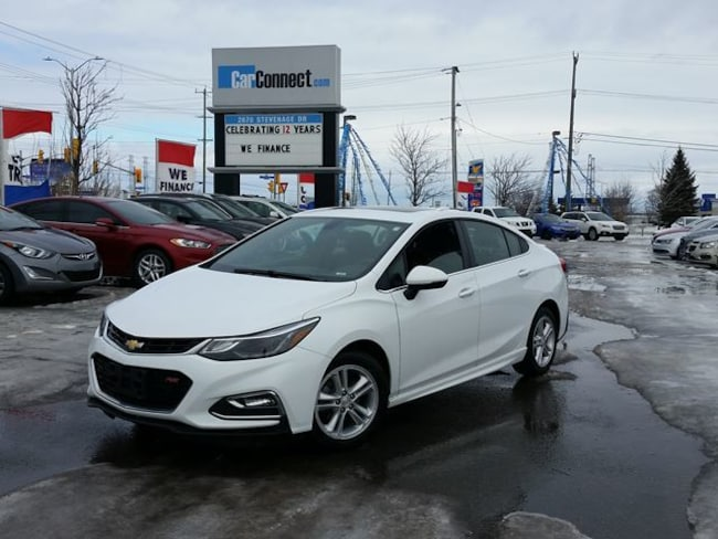 2018 Chevrolet Cruze LT RS PACKAGE ONLY $19 DOWN $75/WKLY!! Sedan