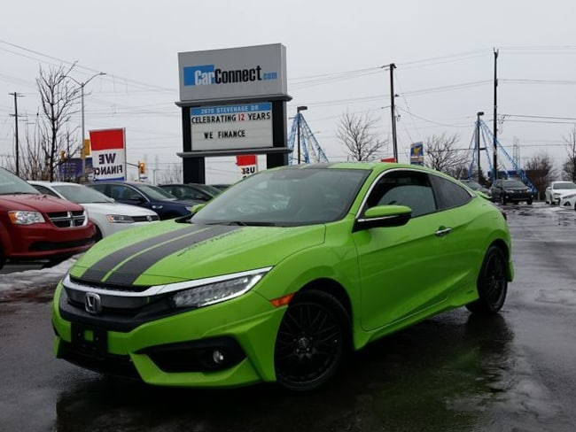 2016 Honda Civic TOURING ONLY $19 DOWN $83/WKLY!! Coupe