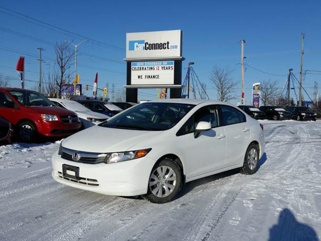 2012 Honda Civic LX ONLY $19 DOWN $46/WKLY!! Sedan