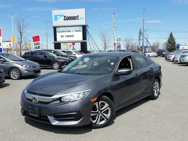 2016 Honda Civic LX ONLY $19 DOWN $77/WKLY!! Sedan