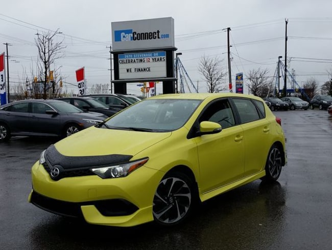 2016 Scion iM SPRING GREEN! ONLY $19 DOWN $63/WKLY!! Hatchback