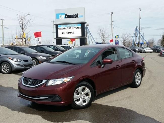 2015 Honda Civic LX ONLY $19 DOWN $55/WKLY!! Sedan