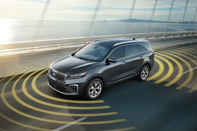 Lane Keeping Assist in 2020 Kia Sorento
