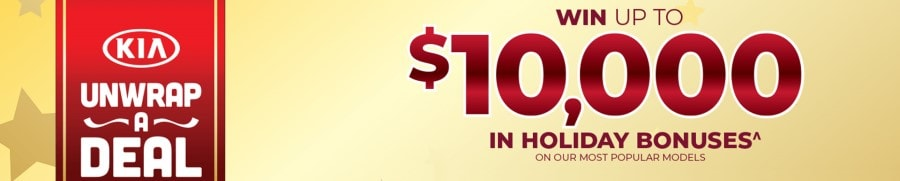 Win Up To $10,000 in Holiday Bonuses