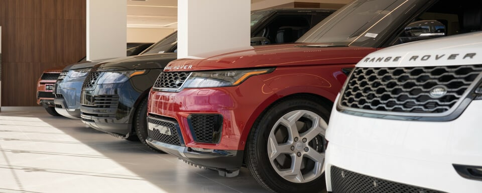 New Land Rover and Range Rover vehicles for sale at Land Rover South Bay