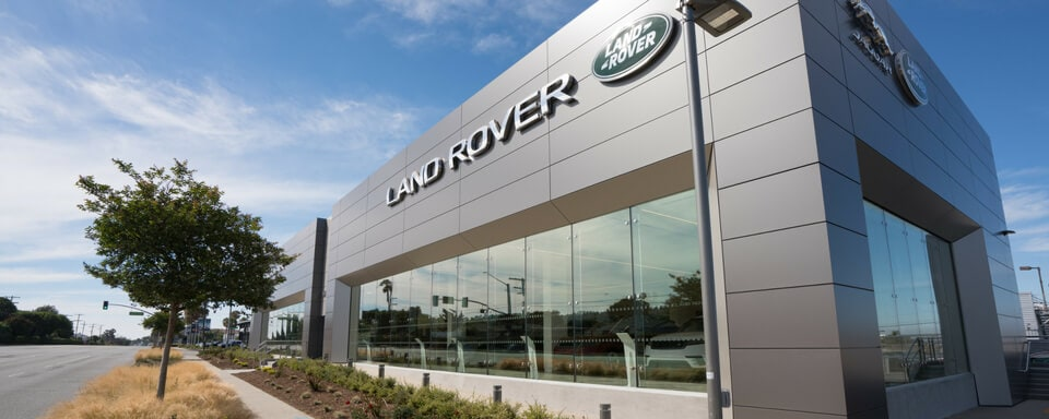 Exterior view of Land Rover South Bay during the day