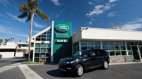 Street view of Land Rover South Bay