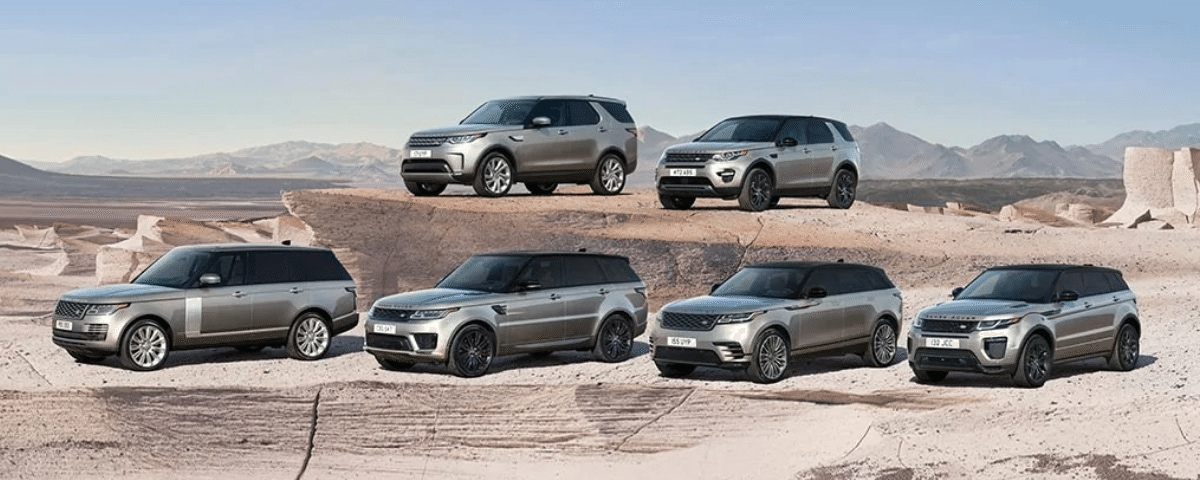 Land Rover Larchmont/New Rochelle model lineup