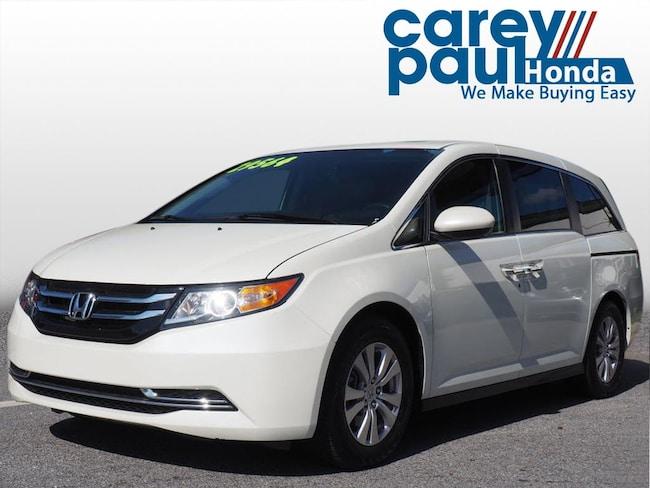 Certified-Used 2016 Honda Odyssey EX-L Van Passenger Van For-Sale-Near-Atlanta-GA