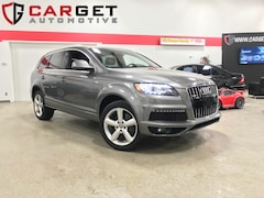 2013 Audi Q7 3.0 TDI  - Navi| Leather| Sunroof| AWD| S-line SUV