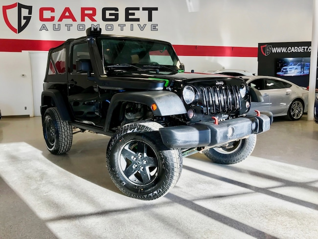2014 Jeep Wrangler Sport - Soft top  Low kms  One owner  Snorkle SUV