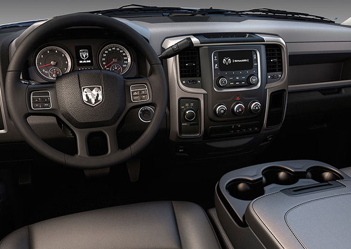 Interior View Of 2016 RAM Chassis Cab in La Mesa