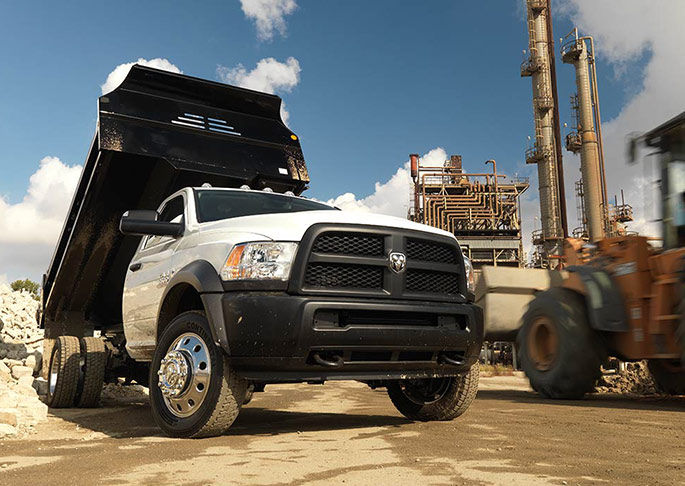 Exterior View Of 2016 RAM Chassis Cab in La Mesa