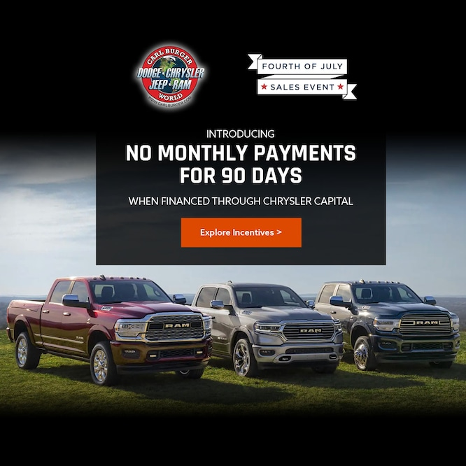 No Monthly Payments for 90 days special