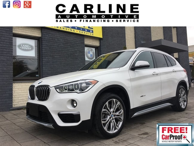 2017 BMW X1 FULLY LOADED/CAM/PANO ROOF/MEMORY SEAT/LIFT GATE SUV