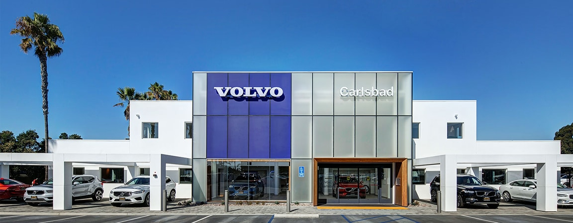 Volvo Cars Carlsbad dealership front