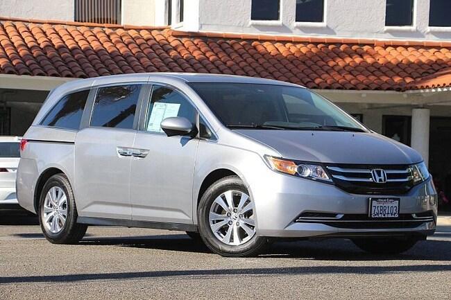 Pre-Owned 2016 Honda Odyssey EX-L Van Passenger Van for sale in Carlsbad, CA
