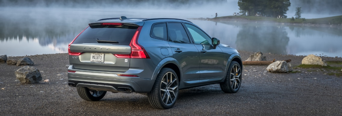 Volvo XC60 by water