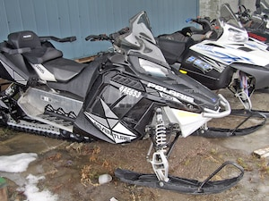 2013 POLARIS SWITCHBACK ADVENTURE 800 TRADES WELCOME
