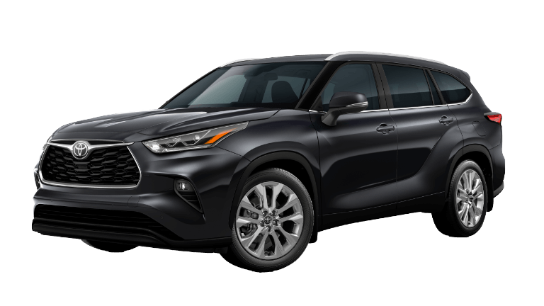 2020 Toyota Highlander Limited - Midnight Black