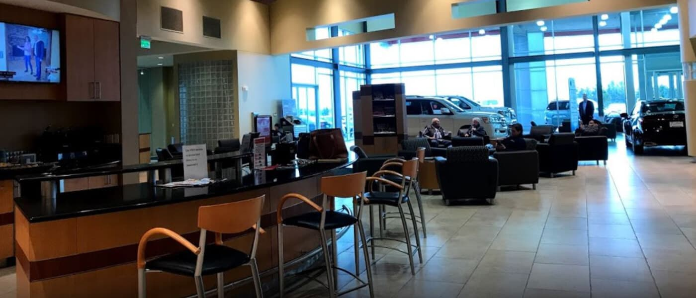 Carlson Toyota Service Lounge