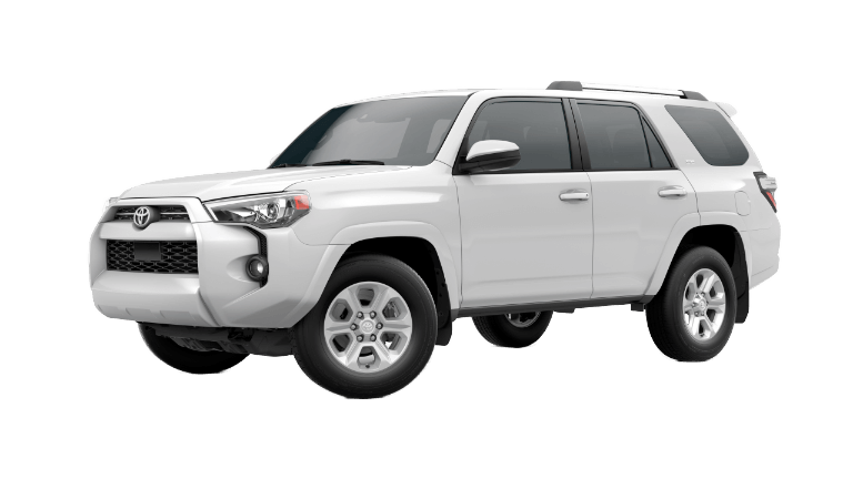 2020 Toyota 4Runner SR5 - Super White