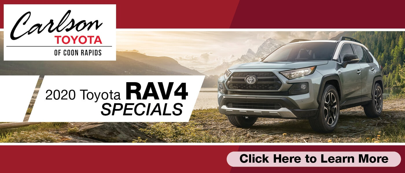 Click Here for 2020 Toyota RAV4 Specials
