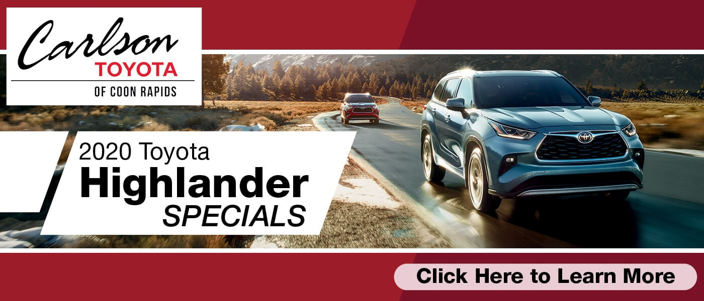 Click Here for 2020 Toyota Highlander Specials
