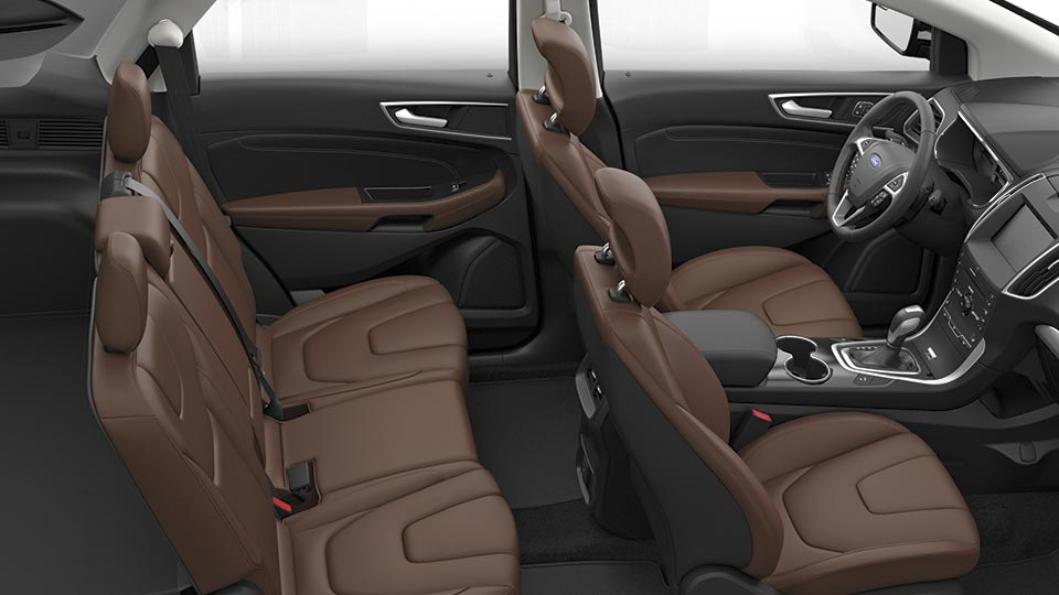 Interior. The Inside Of The 2015 Ford Edge ...