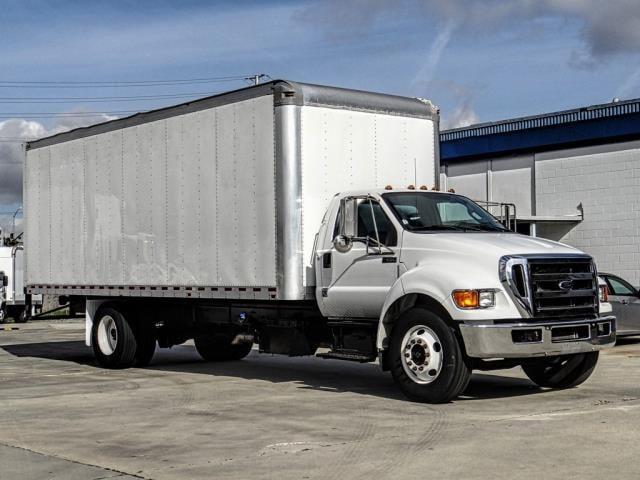 2014 Ford F650 Cargo Van