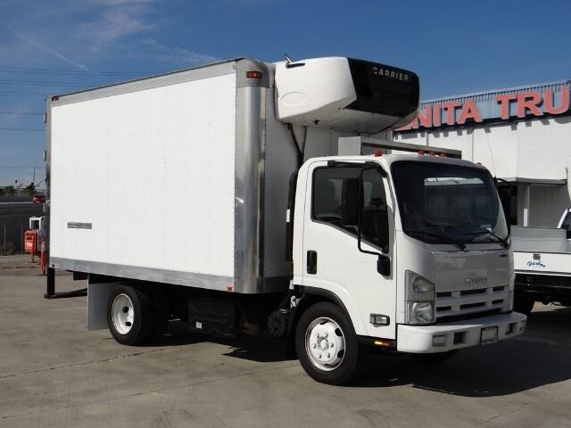 2014 Isuzu NRR Refrigeration Truck