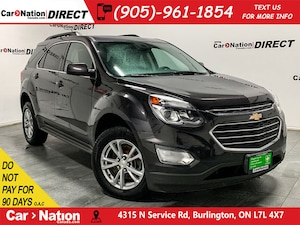 2016 Chevrolet Equinox LT| AWD| BACK UP CAMERA| HEATED SEATS|