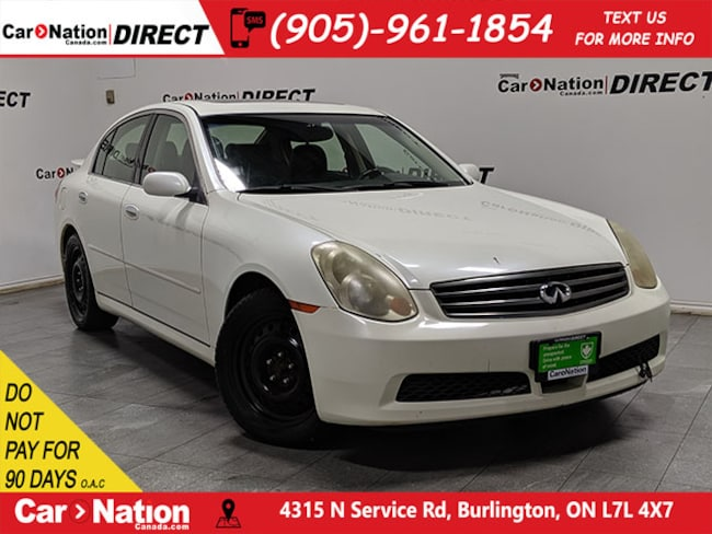 2005 INFINITI G35x | AS-TRADED| AWD| SUNROOF| HEATED SEATS| Sedan