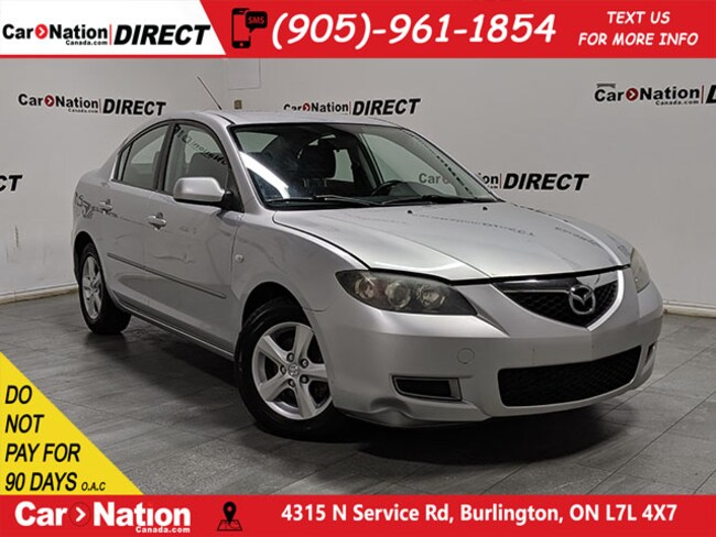2008 Mazda Mazda3 GX| AS-TRADED| ALLOYS| OPEN SUNDAYS| Sedan
