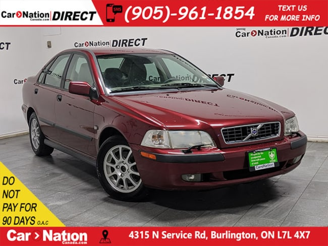 2003 Volvo S40 | AS-TRADED| LEATHER| POWER SEAT| Sedan