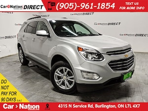 2017 Chevrolet Equinox LT w/1LT| BACK UP CAMERA| HEATED SEATS|