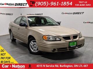 2002 Pontiac Grand Am | AS-TRADED| ONE PRICE INTEGRITY| Sedan
