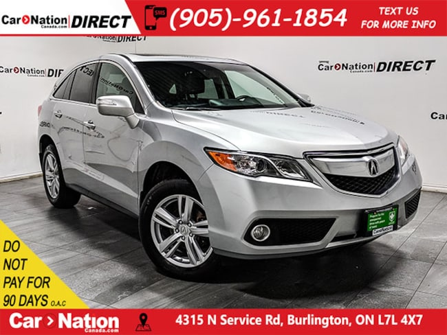 2015 Acura Rdx For Sale >> Used Silver 2015 Acura Rdx For Sale Car Nation Canada Direct
