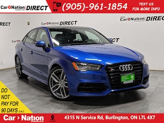 2016 Audi S3 2.0T Technik quattro| NAVI| SUNROOF| Sedan