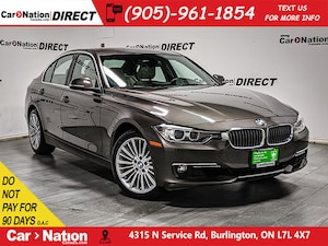 2015 BMW 328i xDrive| NAVI| SUNROOF| BACK UP CAM & SENSORS|