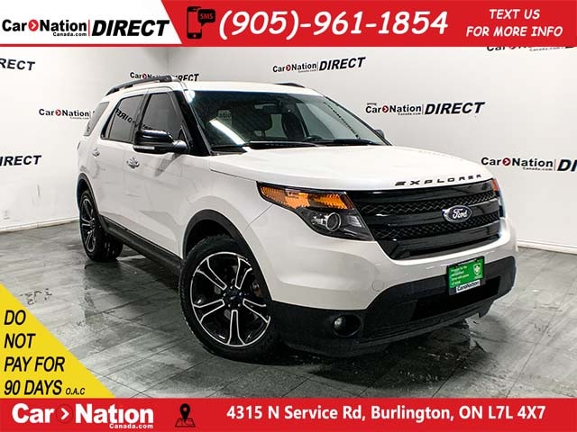 Used White 2014 Ford Explorer For Sale | Car Nation Canada