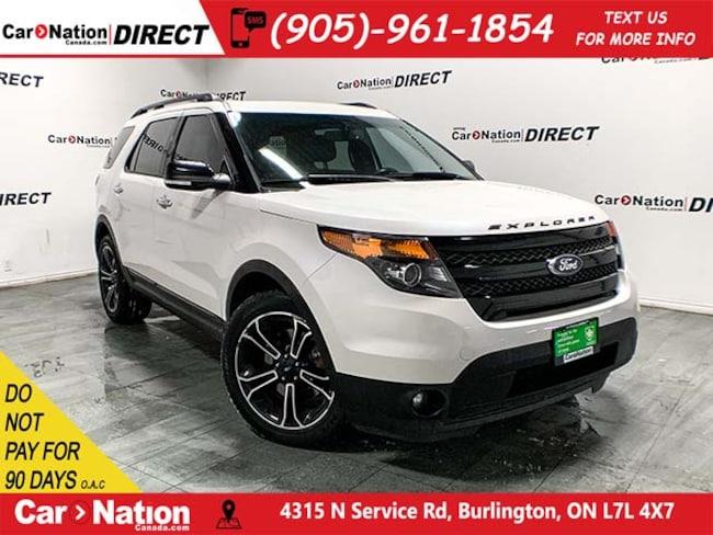 2014 Ford Explorer Sport| 4X4| LEATHER| DUAL SUNROOF| NAVI| SUV