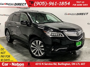 2015 Acura MDX Navigation Package| SUNROOF| AWD|